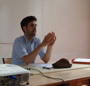 Vortrag von Guillaume Plas