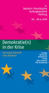 Titelblatt Kulturgespräche 2018