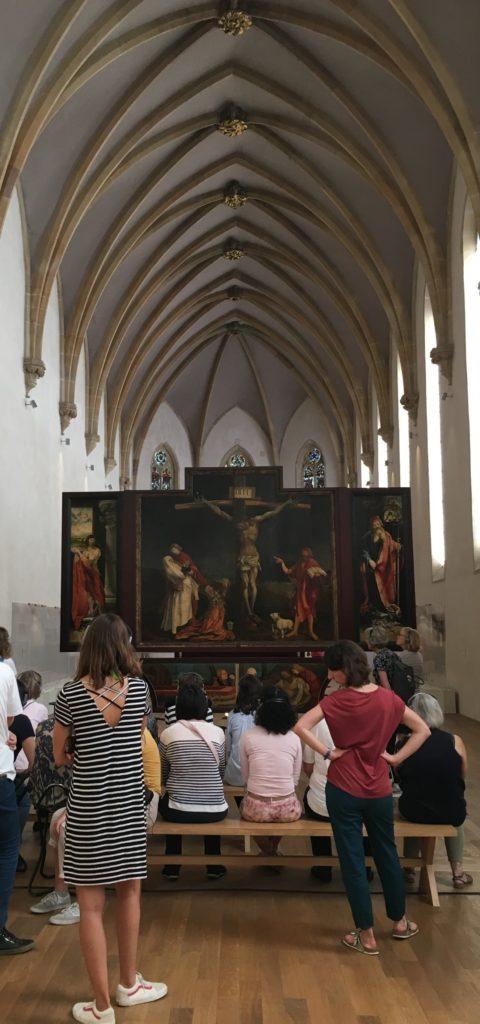 Isenheimer Altar im Unterlinden Museum in Colmar