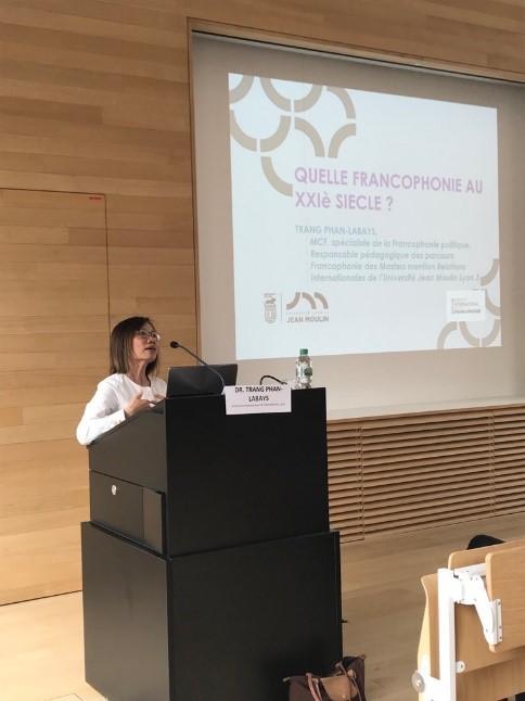 Vortrag von Dr. Trang Phan-Labays